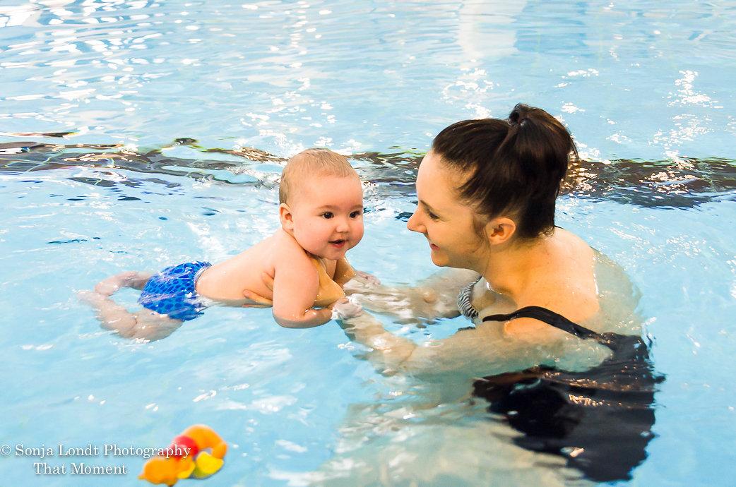 Babies under 6 months can swim! - Aquatots
