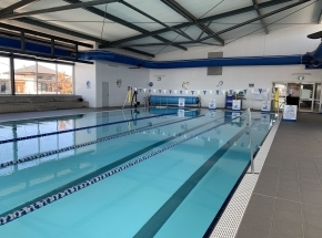 Aquatots @ Googong 25 meter pool, light clean and spacious. Water heated to 33' & air heated to 31'