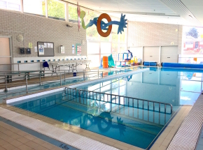Aquatots @ Black Mountain. 12.5 meter pool. Clean and bright. Water heated to 32' & air heated to 31'